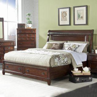 776 Morgan Road  Storage Bed (침대+협탁+화장대)