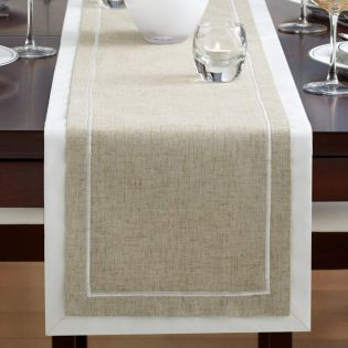 Sage Harbor  Table Runner  (Size: 33cm x 183cm)