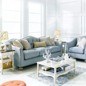 U3446-20-Aqua  Sofa