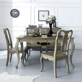 Liberty-4  Dining Set (1 Table + 4 Chairs)