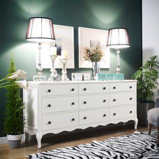 B2185-27W  9-Drawers Dresser