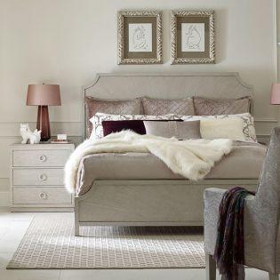 Cinema 7200-4105  Queen Panel Bed (침대+협탁+화장대)