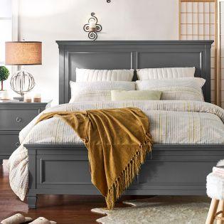 Tamarack-Grey  Queen Panel Bed(침대+협탁+화장대)