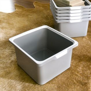 KB-GREY-LARGE  Storage Box