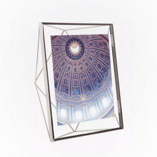 313018-158   Prisma PD 8x10-Chrome Photo Frame