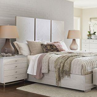Axiom 827250B   Panel Bed (침대+협탁+화장대)