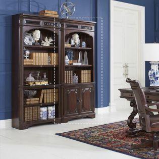 I39-332  Door Bookcase