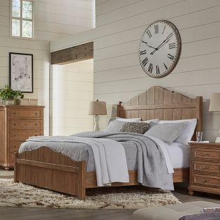Madison Riverside Panel Bed   (침대 + 협탁 + 화장대)
