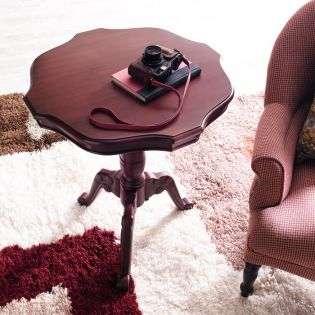 28285R  Red Round Table