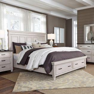 I248 Caraway  Bed w/ Storage  (침대)
