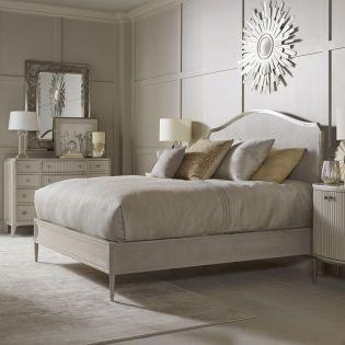 La Scala 257155  Panel Bed  (침대+화장대+협탁)