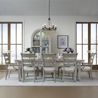 Belhaven 9360L  Dining Set  (1 Table+2 Arm+4 Side)