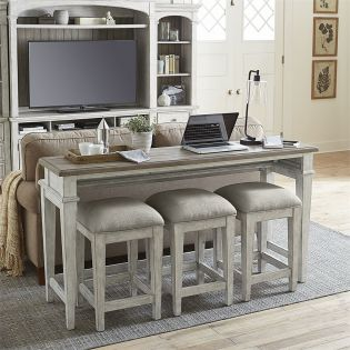 824-OT  Bar Table Set  (1 Table + 3 Stools)