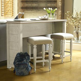 749-827  Console Table  (Stool Option)