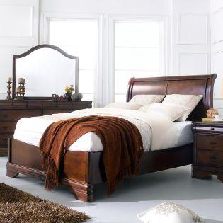 Sheridan-QB  Queen Sleigh Bed