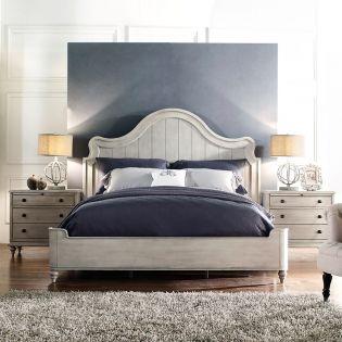 Delilah  Panel Bed (침대+협탁+화장대)