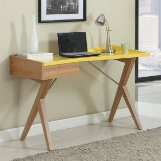 6951-Yellow  Desk