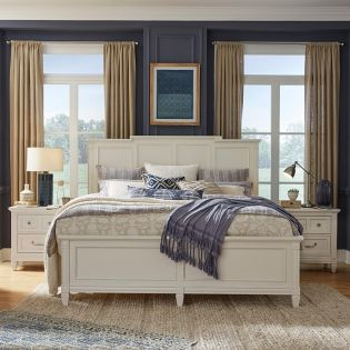 B5324  Panel Bed (침대+협탁+화장대)