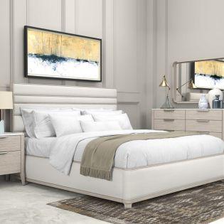 Arris 286  Panel Bed (침대+협탁+화장대)