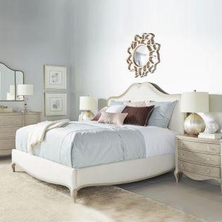Charme 300  Panel Bed (침대+협탁+화장대)