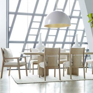 North Side 269220  Dining Set  (1 Table+2 Arm+4 Side)