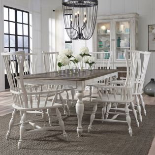 P166 Glendale  6-Dining Set (1 Table + 6 Arm)