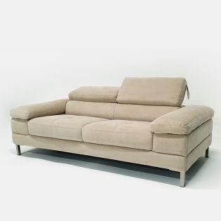 8669 Flax  Fabric Sofa